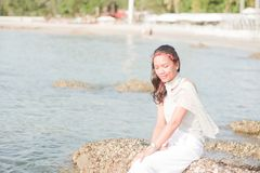 Thais Meisjesportret Royalty-vrije Stock Fotografie