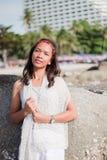 Thais Meisjesportret Stock Foto