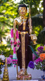 Thais monniksstandbeeld Royalty-vrije Stock Fotografie