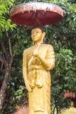 Thais monniksstandbeeld Royalty-vrije Stock Foto