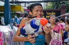 Thais nieuw jaarfestival Royalty-vrije Stock Foto's