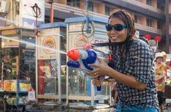 Thais nieuw jaarfestival Royalty-vrije Stock Fotografie