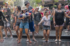 Thais nieuw jaarfestival Stock Fotografie