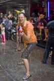 Thais nieuw jaarfestival Stock Foto
