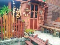 Thais oud huis Royalty-vrije Stock Afbeeldingen