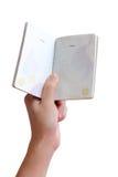 Thais paspoort royalty-vrije stock fotografie