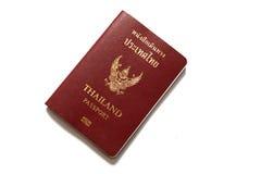 Thais Paspoort Royalty-vrije Stock Foto