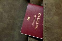 Thais Paspoort Royalty-vrije Stock Afbeelding