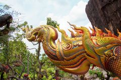 Thais patroon, kleur als echt stock foto