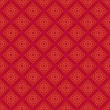 Thais patroon in muurschilderij Stock Fotografie