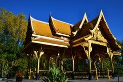 Thais Paviljoenhoogtepunt Royalty-vrije Stock Foto's
