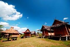 Thais Plattelandshuisje Stock Fotografie
