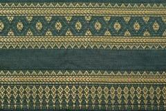 Thais sarongenpatroon Royalty-vrije Stock Foto