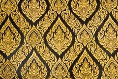 Thais stijl het schilderen art. Royalty-vrije Stock Foto's