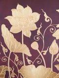 Thais stijl het schilderen art. Royalty-vrije Stock Afbeelding