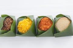 Thais stijl zoet dessert Stock Foto's