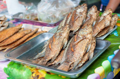 Thais straatvoedsel Stock Foto