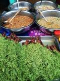 Thais straatvoedsel Stock Foto's