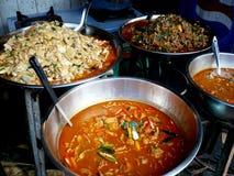 Thais straatvoedsel stock afbeeldingen
