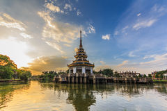 Thais traditiepaviljoen Royalty-vrije Stock Afbeelding