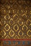 Thais traditioneel decoratief mozaïek Stock Afbeeldingen