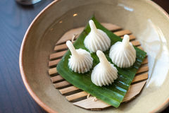 Thais traditioneel dessert Stock Afbeeldingen