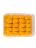 Thais Traditioneel Dessert, (Foi-Leren riem) Stock Fotografie