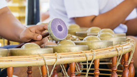Thais traditioneel instrument Royalty-vrije Stock Foto's