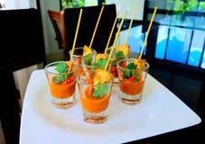 Thais traditioneel menu moo-Sa-Tae Royalty-vrije Stock Afbeeldingen