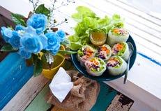 Thais traditioneel voedsel Stock Fotografie