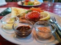 Thais Vissenlapje vlees 01 Stock Afbeelding
