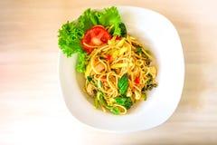 Thais voedsel - beweeg gebraden gerecht #6 royalty-vrije stock foto