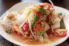 Thais voedsel - beweeg gebraden gerecht #6 Royalty-vrije Stock Fotografie