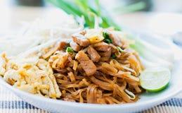 Thais voedsel - beweeg gebraden gerecht #6 Stock Afbeelding