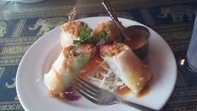 Thais voedsel - beweeg gebraden gerecht #6 Royalty-vrije Stock Afbeelding