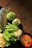 Thais voedsel - beweeg gebraden gerecht #6 Stock Fotografie