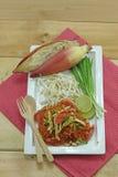 Thais voedsel - beweeg gebraden gerecht #6 royalty-vrije stock foto's