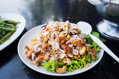 Thais voedsel, foo van yampla duk stock foto's
