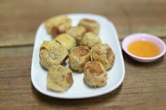 Thais voedsel hoy-Jor royalty-vrije stock afbeeldingen
