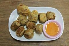 Thais voedsel hoy-Jor royalty-vrije stock afbeelding
