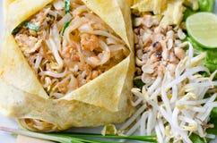 Thais voedselstootkussen Thai Royalty-vrije Stock Afbeelding