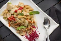 Thais Voedselstootkussen Woon Sen stock fotografie