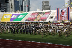 thaiscouts游行  免版税库存照片