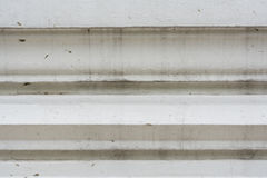 Thaise achtergrond van de muur de witte antieke kunst Royalty-vrije Stock Foto
