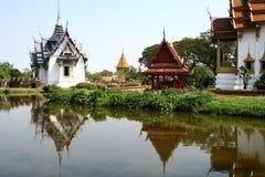 Thaise architectuur Royalty-vrije Stock Foto's