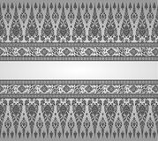 Thaise Art Background-patroonvector Stock Afbeeldingen