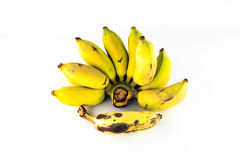 Thaise bananen Royalty-vrije Stock Afbeelding