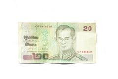 Thaise Bankbiljetten Stock Afbeelding
