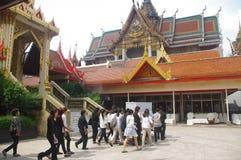 Thaise begrafenis royalty-vrije stock afbeeldingen
