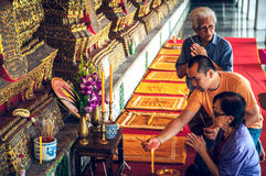 Thaise Bhuddist-Manier Royalty-vrije Stock Foto's